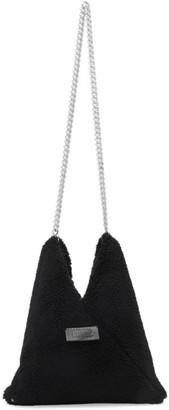 MM6 MAISON MARGIELA Black Sherpa Chain Bag