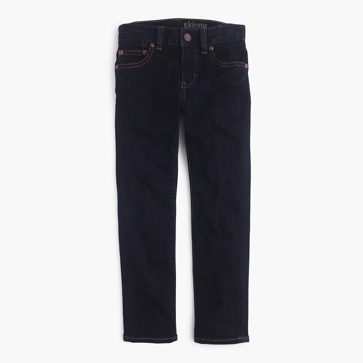 J.Crew Boys's wrinkle rinse wash jean in stretch skinny fit