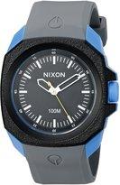 Nixon Men's A349-1537-00 Ruckus Analog Display Japanese Quartz Grey Watch