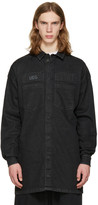 Ueg Black Denim Shirt