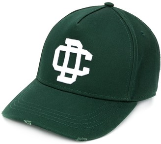 DSQUARED2 Logo Patch Adjustable Baseball Cap