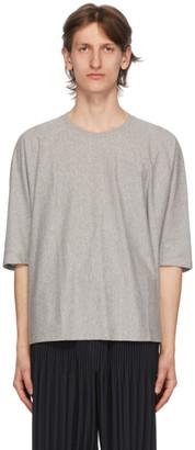 Homme Plissé Issey Miyake Grey Release Basic T-Shirt