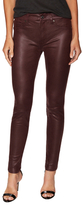 7 For All Mankind Faux Leather Skinny Jean