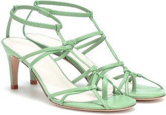 Tibi Gavin leather sandals