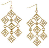 Jessica Simpson Flex Kite Drop Earrings