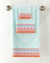 John Robshaw Mitta Seaglass Towels