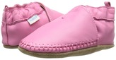 Robeez Premuim Leather Classic Moccasin Soft Sole Girls Shoes