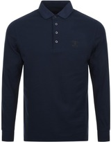 Barbour Standards Polo T Shirt Navy
