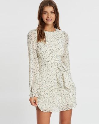 Atmos & Here Daisy Sleeved Mini Dress