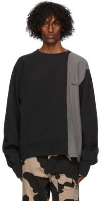 Ambush Black Mix Panel Sweatshirt