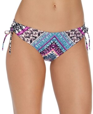 Raisins Juniors' Wild About You Printed Hipster Bikini Bottoms, Created for Macy's Women's Swimsuit