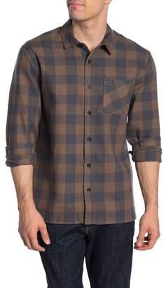 Volcom Joneze Check Print Regular Fit Shirt