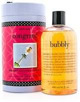 philosophy Congrats! Bubbly Shampoo, Shower Gel & Bubble Bath Gift Set