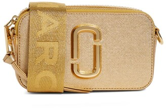 Marc Jacobs The The Metallic Leather Snapshot Camera Cross-Body Bag