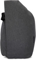 Côte and Ciel Black Mélange Medium Isar Eco Yarn Backpack