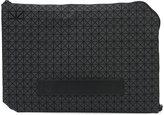 Bao Bao Issey Miyake geometric pattern clutch - men - Polyurethane - One Size