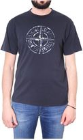 Stone Island T-shirt In Cotone