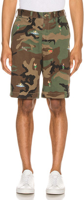 Polo Ralph Lauren Rugged Chino Shorts in Surplus Camo With Hula | FWRD