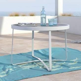 Mirabelle Elle Decor Glass Side Table Elle Decor