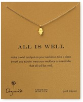 """Dogeared All is Well Hamsa Necklace, 18"""""""