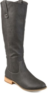 Journee Collection Women's Extra Wide Calf Taven Boot Women's Shoes