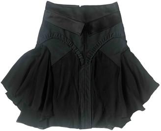 Martine Sitbon Black Cotton Skirt for Women