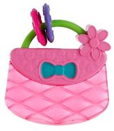Kids II® Pretty in Pink Carry & Teether Purse