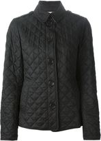 Burberry quilted jacket - women - Cotton/Polyester - S