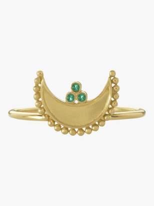 Amrapali Heritage Crescent Ring