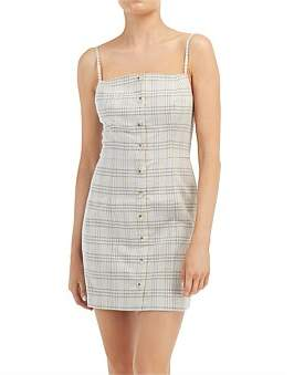 The Fifth Label Violet Check Dress