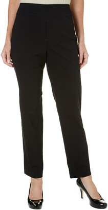 Alfred Dunner Women's Updated Medium (Regular) Lenth Slim Leg Pant