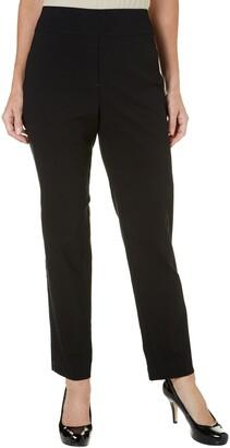 Alfred Dunner Women's Updated Short Lenth Slim Leg Pant
