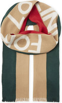 Gucci Blind For Love Wool And Silk-blend Scarf