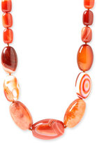 Anthology 'Big & Bold' Semiprecious Stone Long Strand Necklace