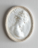 Horchow Cameo Plaque, Right Facing