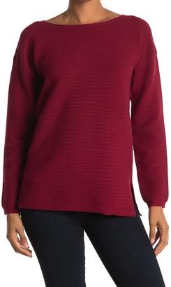 Cyrus Ribbed Long Sleeve Pullover