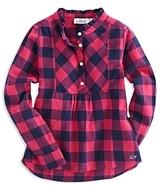 Vineyard Vines Girls' Buffalo-Check Shirt - Little Kid