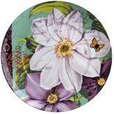 Waechtersbach Floral Impressions 4-pc. Clematis Plate Set