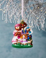 Christopher Radko She Can't Bear to Eat Alone Goldilocks Christmas Ornament