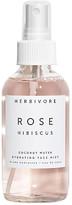 Herbivore Botanicals Rose Hibiscus Hydrating Face Mist in Neutral.