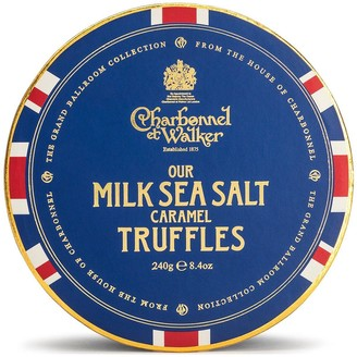 Charbonnel et Walker Union Jack Milk Sea Salt Caramel Truffles 240G