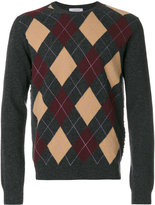 Valentino diamond patterned jumper