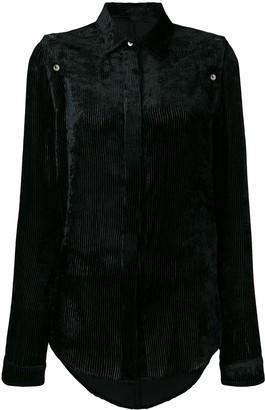 Unravel Project corduroy long sleeve shirt