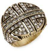 Heidi Daus Everyday Chic Swarovski Crystal Ring
