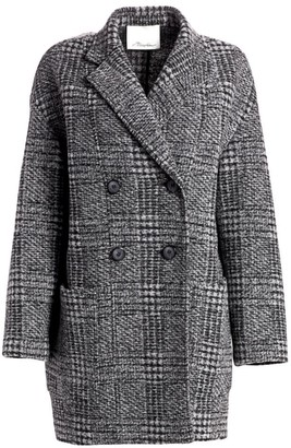 3.1 Phillip Lim Glen Check Dolman Sleeve Coat
