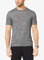 Michael Kors Linen And Cotton T-Shirt