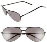 Marc Jacobs Women's 59Mm Semi Rimless Sunglasses - Dark Ruthenium