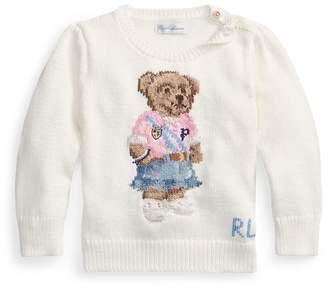 Ralph Lauren Spring Bear Cotton Jumper