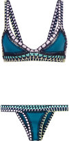 Kiini Flor bikini - women - Nylon/Polyester/Spandex/Elastane - L
