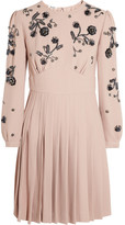 Miu Miu Embellished cady dress